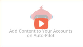 Add top quality content to your social media accounts automatically with JARVEE - the best social media automation software