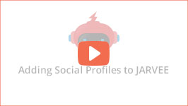 Adding social profiles to JARVEE - the best social media automation software today
