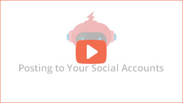 See how easy is to schedule all your social media posts with JARVEE