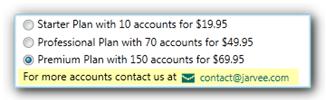 getting more JARVEE accounts