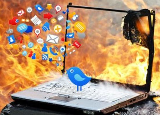 the use of social media during a calamity