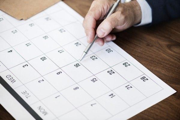 social media marketing tips calendar