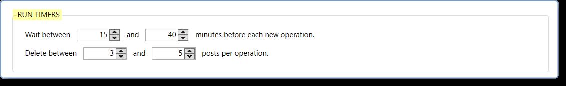 Facebook Delete Posts Tool - Jarvee