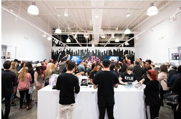 Kylie Jenner's pop-up shop