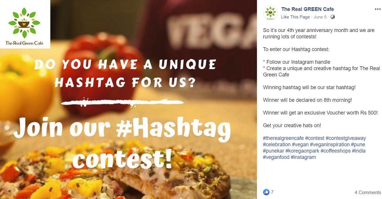 hashtag sample