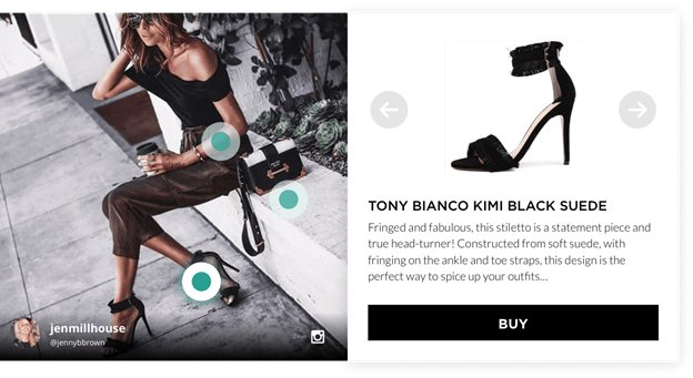 On-site Social Proof and Shoppable Content